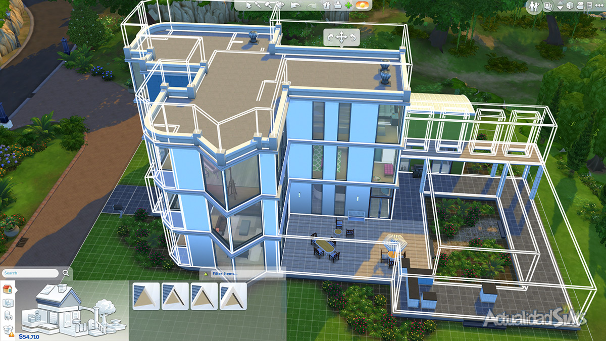 Impresiones del modo construir de los sims 4 - Cuanto puede costar la reforma de un piso ...