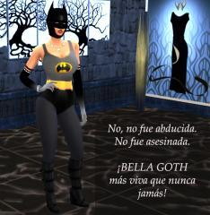 Increíbles pistas sobre el sino de Bella Goth, alias Elvira Lápida